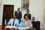 Djibouti / Somalie : Les opérateurs postaux signent un mémorandum d'entente